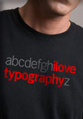 I Love Typography a-z